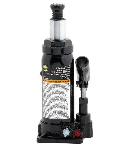 (Omega 10065B Black Hydraulic Bottle Jack - 6 Ton Capacity)