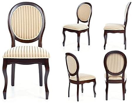Sedie Per Sala Da Pranzo : Jadella sedia per sala da pranzo in legno massiccio vivaldi