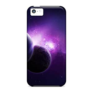 Awesome Case Cover/iphone 5c Defender Case Cover(purple Universe)