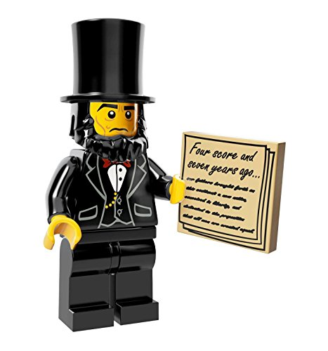 Rare collection model!!! New arrival!!!NEW THE LEGO MOVIE MINIFIGURES 71004 - Abraham Lincoln (Honest Abe)