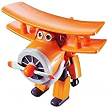 """Super Wings - Transforming Grand Albert Toy Figure   Plane   Bot   5"""" Scale"""
