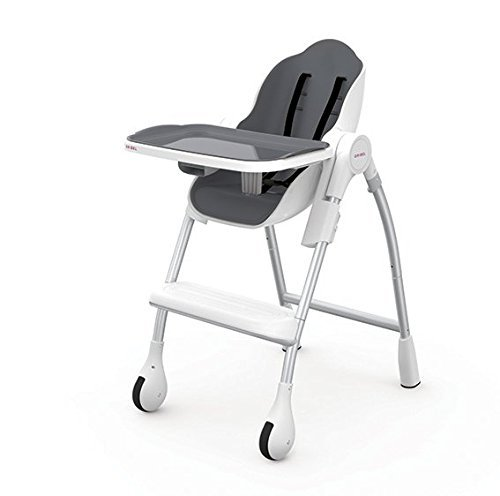 Oribel Cocoon 3-Stage High Chair, Slate