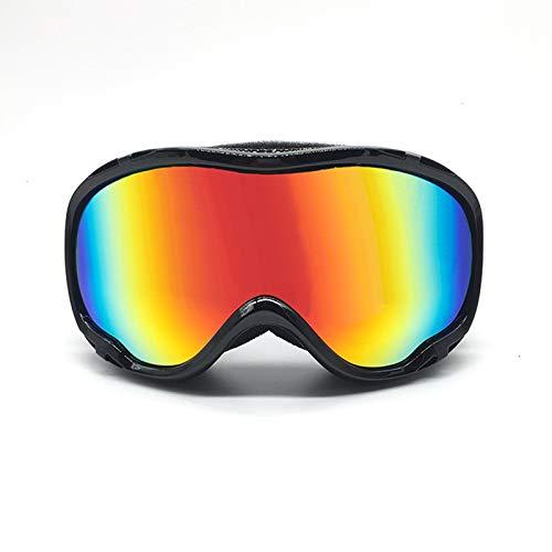 Epinki Adulto TPU+PC Gafas de Snowboard De Dos Capas Anti-Niebla PC Objetiva Gafas de Protección Gafas de Esquí Gafas de...