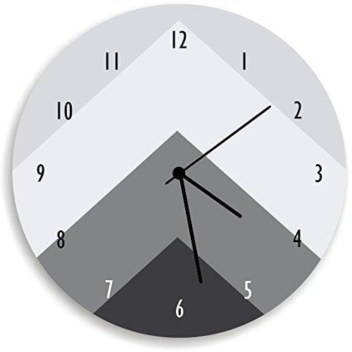 amazon com kid o design studio geometric wall clock decorative kids rh amazon com Wall Clocks with Pendulum Antique Wall Clocks