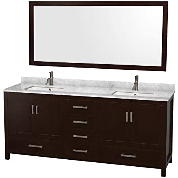 Wyndham Collection Sheffield Inch Double Bathroom Vanity In