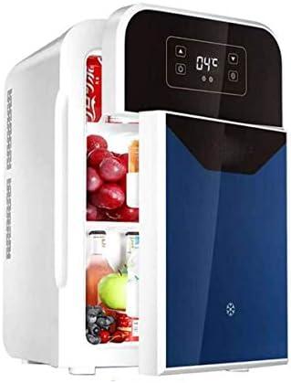 ZOUSHUAIDEDIAN ミニ冷蔵庫ポータブルAC/DC車、住宅、オフィス、寮のための熱電システムクーラーとウォーマー22Literパワード (Color : Blue)