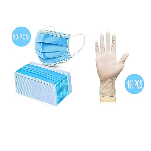 Protective Goggles,Safety Gloves,Disposable Mask,Personal Protective Equipment