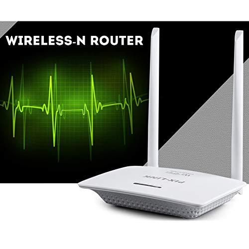 QUARKJK 3G/4G Wireless Router Smart Home WiFi High Speed 300M Through The Wall King Router 4 Port,EU