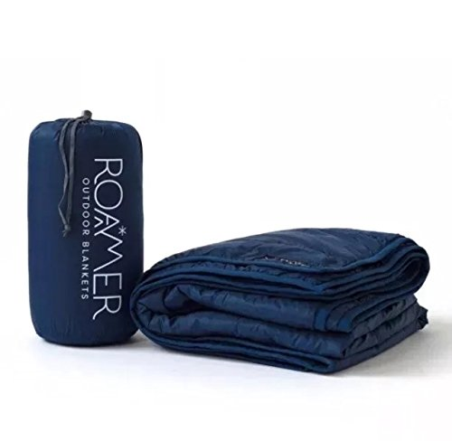Roamer Outdoor / Insulated Throw / Camping Blanket (Blue Outdoor Blanket)