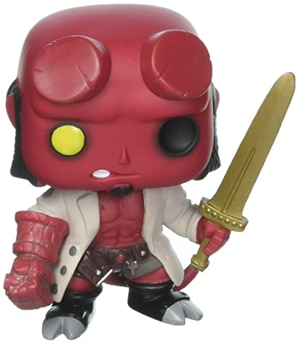 Pop Hellboy with Excalibur Vinyl Figure