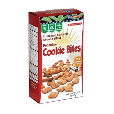 Kay's Naturals Cookie Bites, Cinnamon Almond, Gluten Free, 1.2 Oz ( Value Bulk Multi-pack)