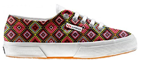 Superga Customized Chaussures Coutume African Texture (produit artisanal)