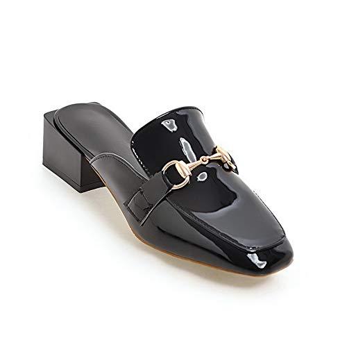 Compensées Sandales Femme SDC05819 Noir AdeeSu Aa5UpExnq