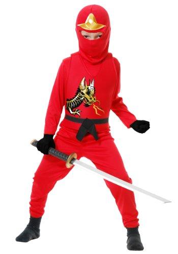 Black And Red Ninja - Charades Ninja Avenger Series II Child's