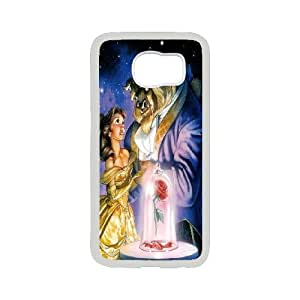 LISHUANGSHUANG Phone case Style-10 -Beauty And The Beast Pattern Protective Case For Samsung Galaxy S6