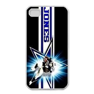 iphone4 4s Phone Case White Dallas Cowboys JFL230902