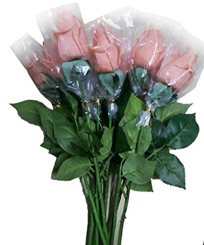 CHUNKUNA Artificial Fake Flowers Bouquet Wedding Home Party Decoration ()
