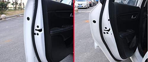 TLU-Kaxu - 12Pc Car Door Lock Screw Protector Cover For Auto Accessories Citroen Picasso C1 C2 C3 C4 C4L C5 DS3 DS4 DS5 DS6 Elysee C-Quatre