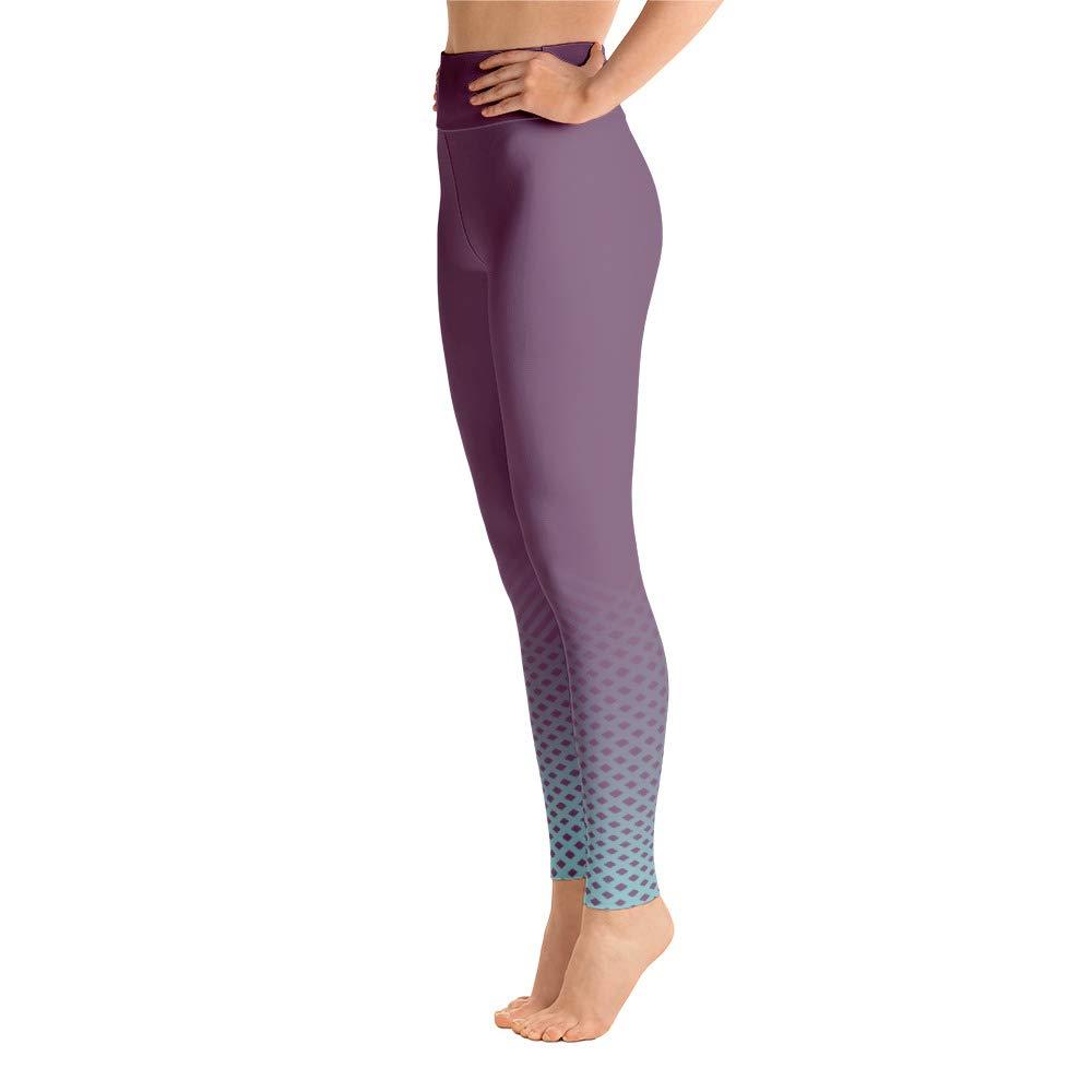 LovelyEventsCrafts Patterned Ombre Purple Blue Leggings
