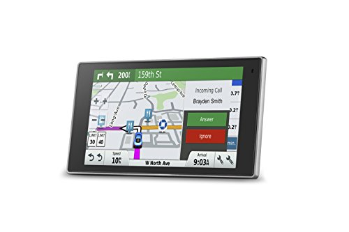 [해외]Garmin DriveLuxe 50 NA LMTHD GPS 네비게이터 시스템, 평생지도 및 교통 정보, 스마트 알림, 음성 활성화, 드라이버 알림 및 매끄러운 ME/Garmin DriveLuxe 50 NA LMTHD GPS Navigator System with Lifetime Maps and Traffic, Smart Notifications...