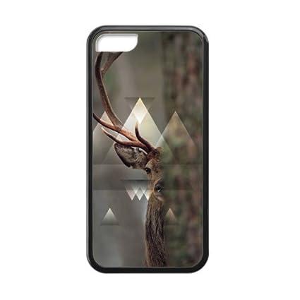 drap housse iphone Drap housse Cerf Forêt Apple iPhone 5 TPU pour iPhone 5 C  drap housse iphone