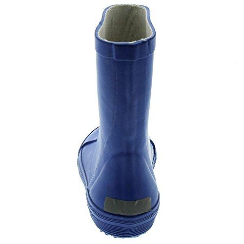de Gummistiefel Niños azul mar Unisex Botas Agua Celavi qFRpwxOgg