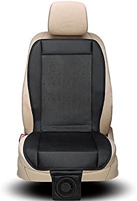 Cooling Seat Cushion with Adjustable Temperature Control Fan for Air Conditioned Seats CLEARON Cool Car Seat Covers Car seat Cooling Pad with Air Cooling Truck Seat Cooler