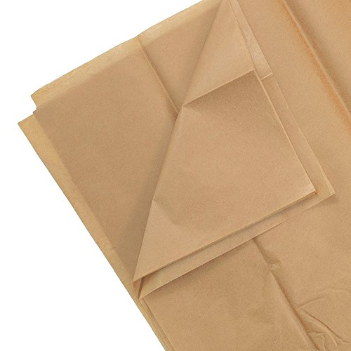 Tan Color Tissue Paper - 10 sheets per pack