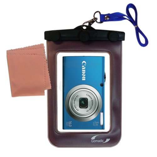Lightweight Underwater Camera Bag suitable for the Canon Powershot A2300 A2400 A2500 Waterproof (Canon Waterproof Case Weight)
