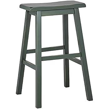 Amazon Com Pj Wood 29 Inch Saddle Seat Counter Stool