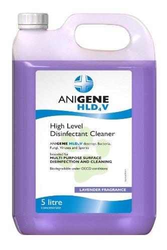 Case of 4x5 litre ANIGENE HLD4V Disinfectant lavender fragrance 1