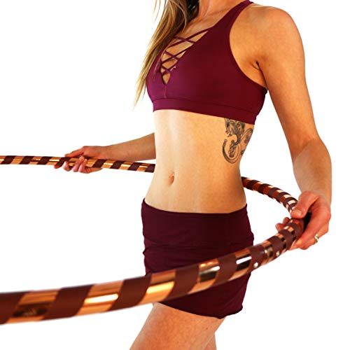 Weighted Hula Hoop for Exercise and Fitness - 42