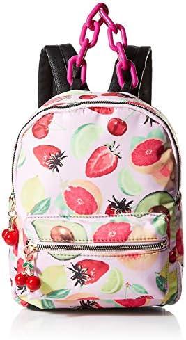 Betsey Johnson Nylon Small Backpack