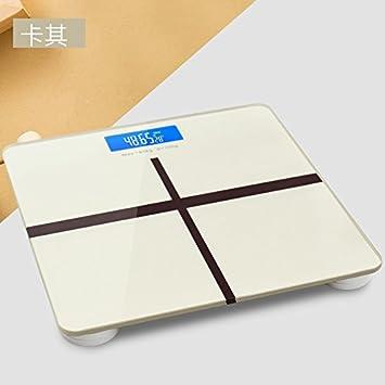 ZhangTianShi Báscula de baño Básculas de Salud Humana Básculas de Peso Básculas de Salud Humana Escalas de Carga USB de Interfaz Doméstica, ...