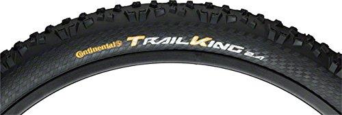 Continental Trail King Fold ProTection/Apex, Black Chili, Mountain Bike Tire, 29 x 2.4cc, Black