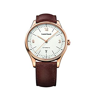 Louis Erard Men's Heritage White Dial 69287PR11 Veal Leather strap