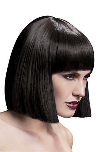Fever Women's Blunt Cut Brown Bob Wig with