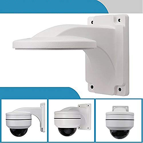 Wall Mount Bracket,LEFTEK Full Metal Bracket Outdoor Indoor CCTV Stand Accessory for LEFTEK Dome PTZ - Bracket Outdoor Mount Wall