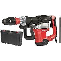 Einhell 4139090 Abbruchhammer TE-DH 1027, 1.500 W, Schlagzahl 1.900 min-1, Schlagstärke 32 J, SDS Max, Vibrationsgedämpfter Griff, im Koffer, rot