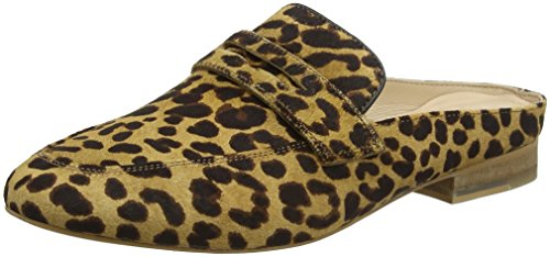 Marron Brown Beliz panther Femme Leather Maruti Zj5 Hairon Mocassins black pxXWU0