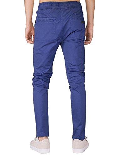 Azul Cargo Awoken Slim The Pantalón Casual Hombre Fit Algodón Chino ABxxqz