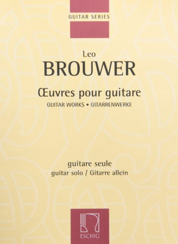 Guitar Works I: Guitar Solo (Best Classical Guitar Programs)