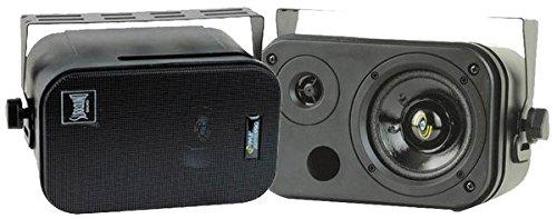 Pyle-Home PDMN38 3.5-Inch 2-Way Bass Reflex Mini-Monitor System Pair Sound Around