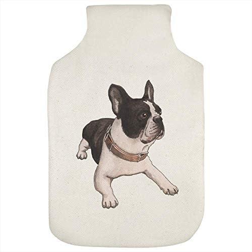 Azeeda 'Französische Bulldogge' Wärmflaschenbezug (HW00010609)