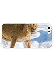 3d Full Wrap Case for iPhone 5/5s Animal Lioness83