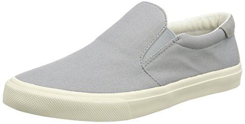 Gola Men's Breaker Slip On Sneaker,Light Grey Canvas,US 11 M
