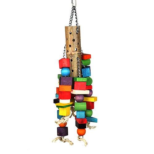 Happy Pet Bamboo Jouet géant en bambou pour perroquet 00791