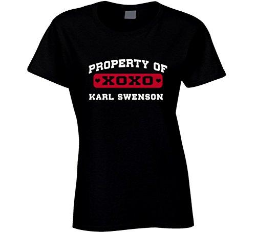Karl Swenson Characteristic of I Love T Shirt L Black
