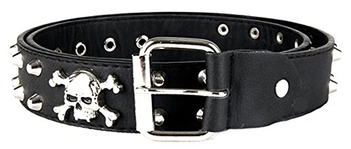 AnVei Nao Womens Studded Leather Buckle