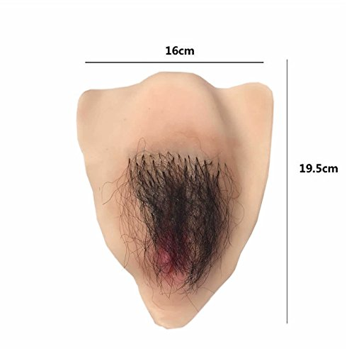 Para Transgender Vaginal Shemale Crossdresser Ajusen Realistic Insertable Silicone Skin hair Fake FXFnqPOB